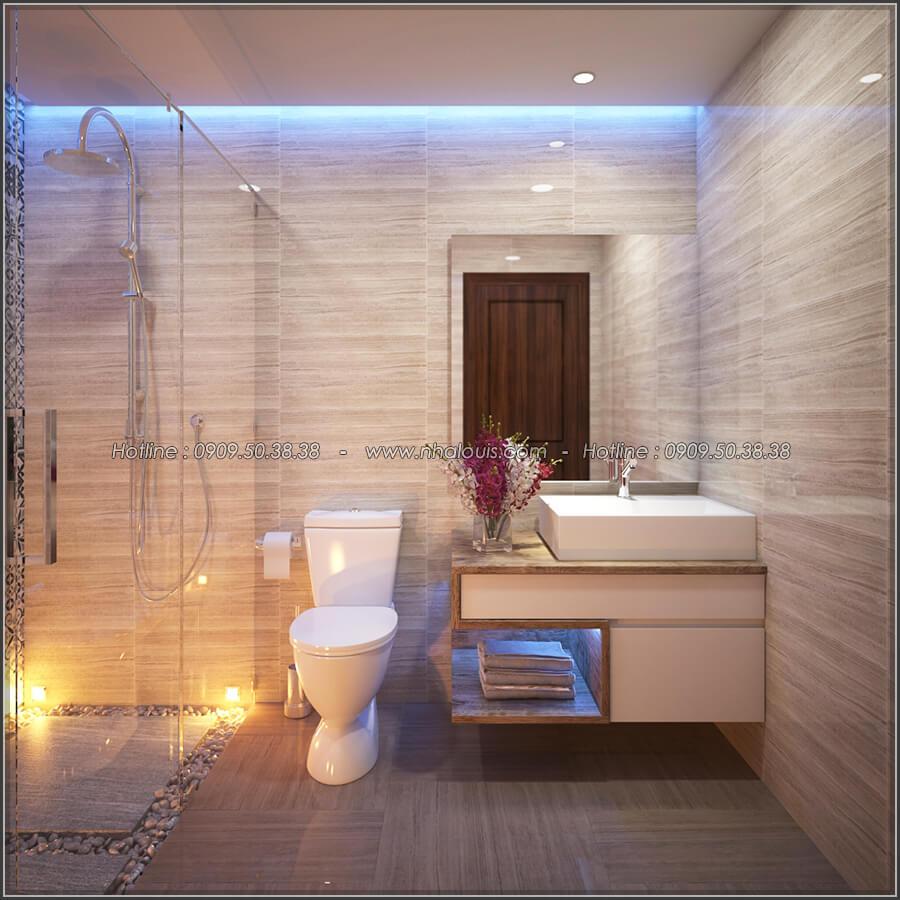 Phòng tắm và WC Mê đắm thiết kế nội thất chung cư 2 phòng ngủ sang trọng tại Green Valley Quận 7 - 12
