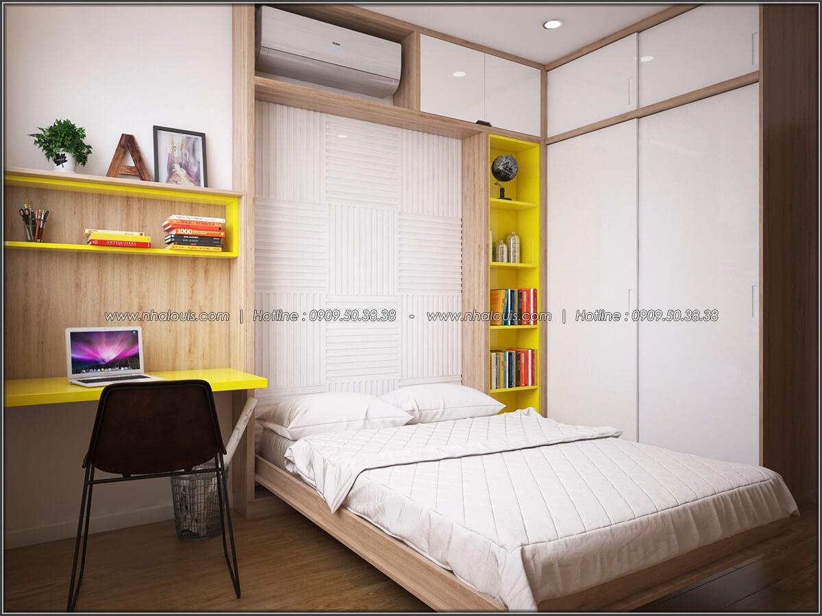 Phòng ngủ Mê đắm thiết kế nội thất chung cư 2 phòng ngủ sang trọng tại Green Valley Quận 7 - 14