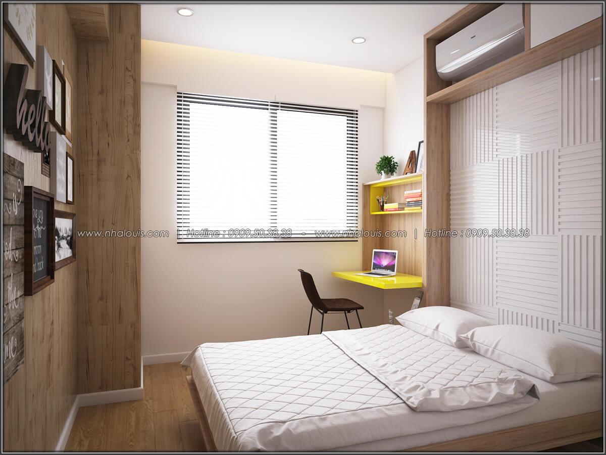 Phòng ngủ Mê đắm thiết kế nội thất chung cư 2 phòng ngủ sang trọng tại Green Valley Quận 7 - 15