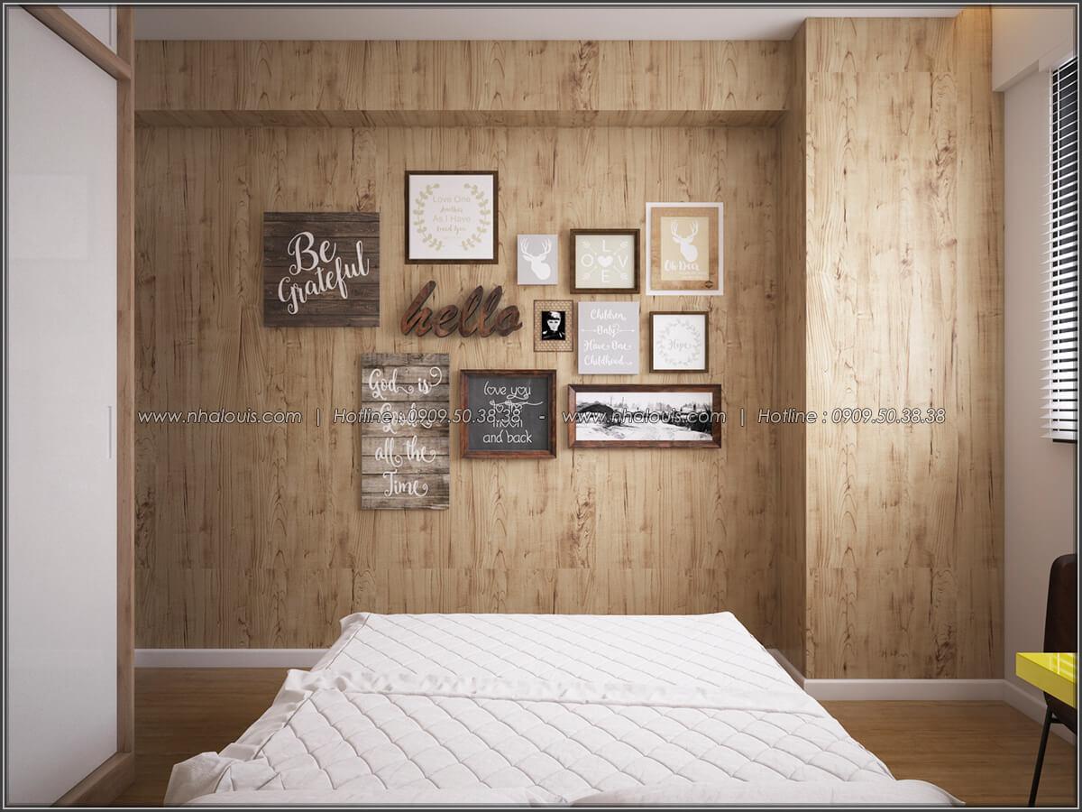 Phòng ngủ Mê đắm thiết kế nội thất chung cư 2 phòng ngủ sang trọng tại Green Valley Quận 7 - 16