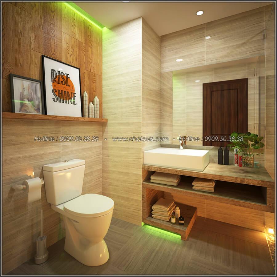 Phòng tắm và WC Mê đắm thiết kế nội thất chung cư 2 phòng ngủ sang trọng tại Green Valley Quận 7 - 17