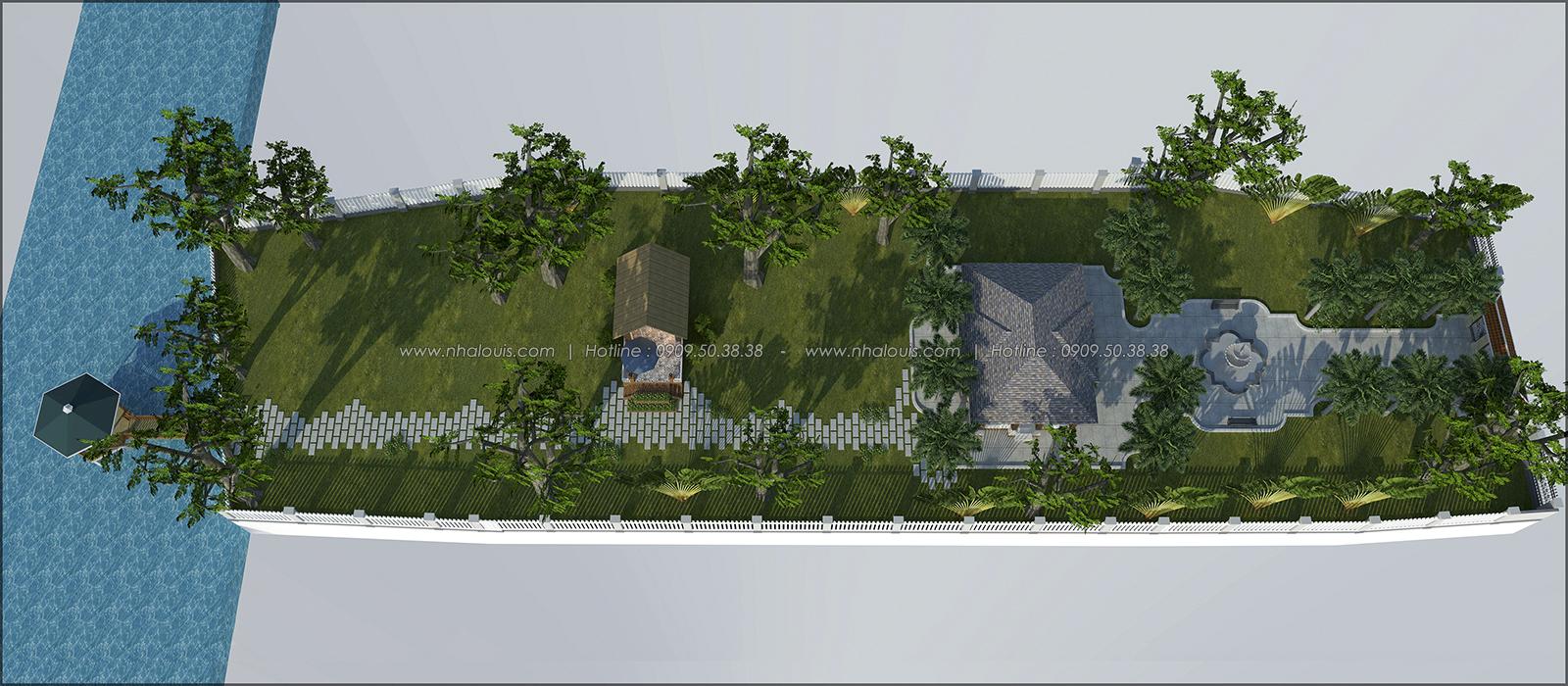 Mê mẩn với thiết kế nhà vườn đẹp xanh mát tại Bến Tre - 01