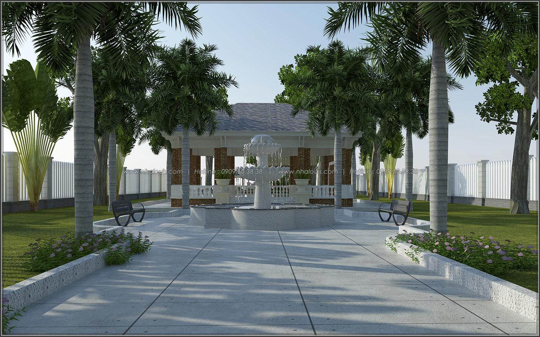 Mê mẩn với thiết kế nhà vườn đẹp xanh mát tại Bến Tre - 03