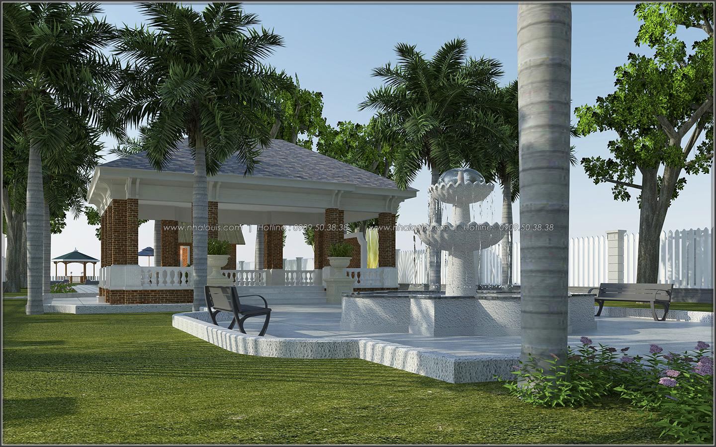 Mê mẩn với thiết kế nhà vườn đẹp xanh mát tại Bến Tre - 04