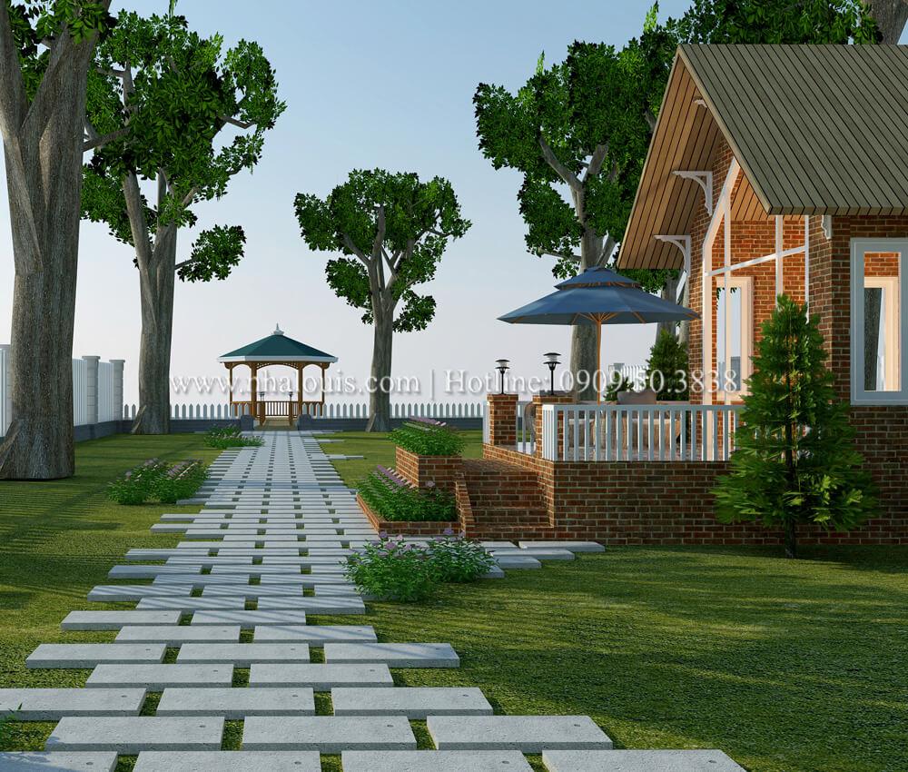 Mê mẩn với thiết kế nhà vườn đẹp xanh mát tại Bến Tre