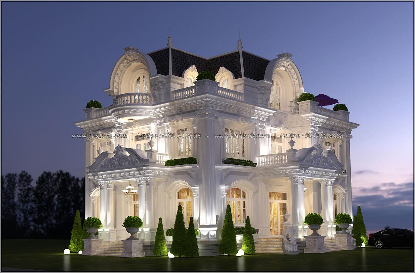 Mặt tiền Mê mẩn với thiết kế biệt thự 3 tầng kiểu Pháp hoành tráng tại Biên Hòa - 02