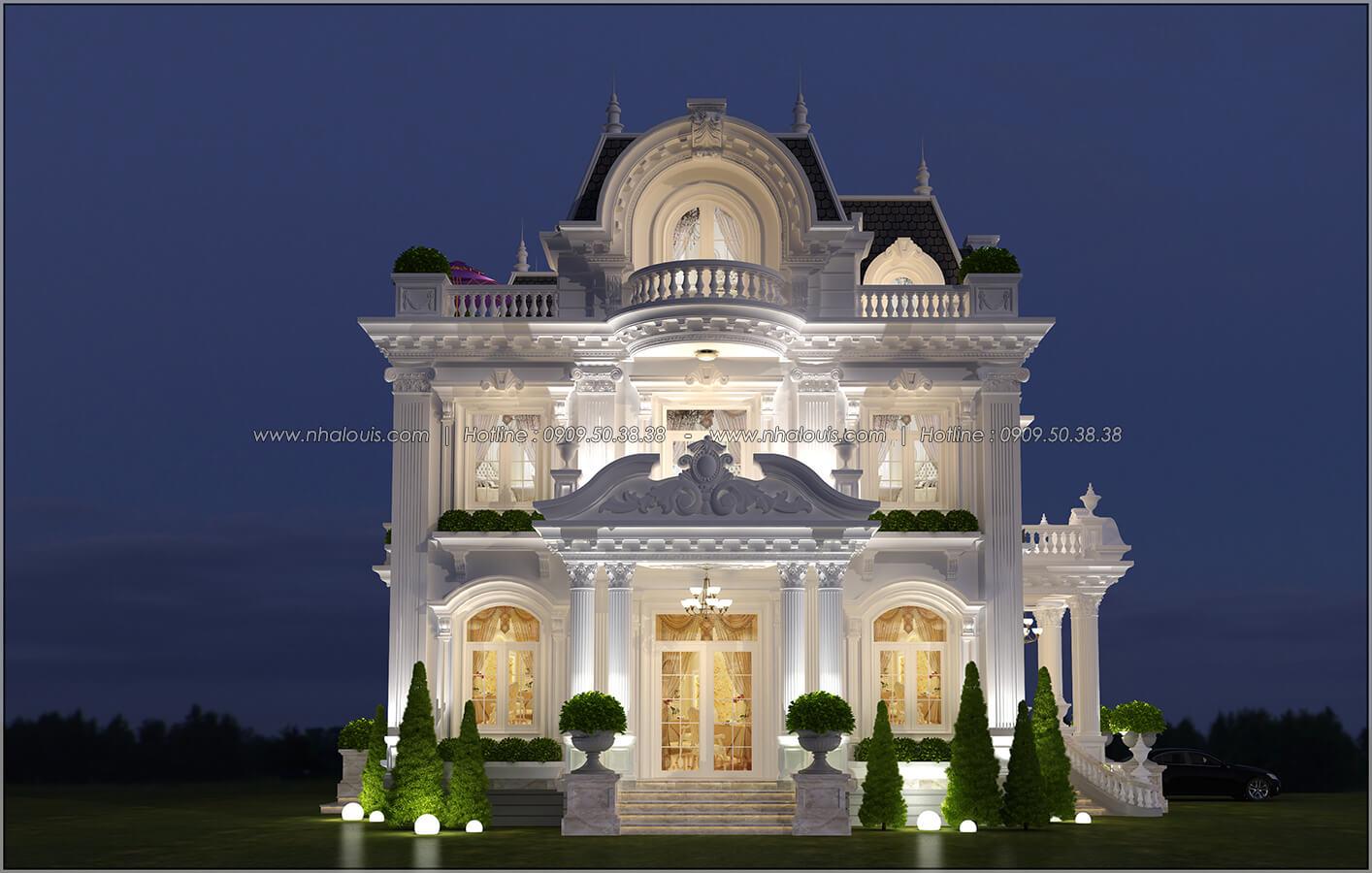 Mặt tiền Mê mẩn với thiết kế biệt thự 3 tầng kiểu Pháp hoành tráng tại Biên Hòa - 03