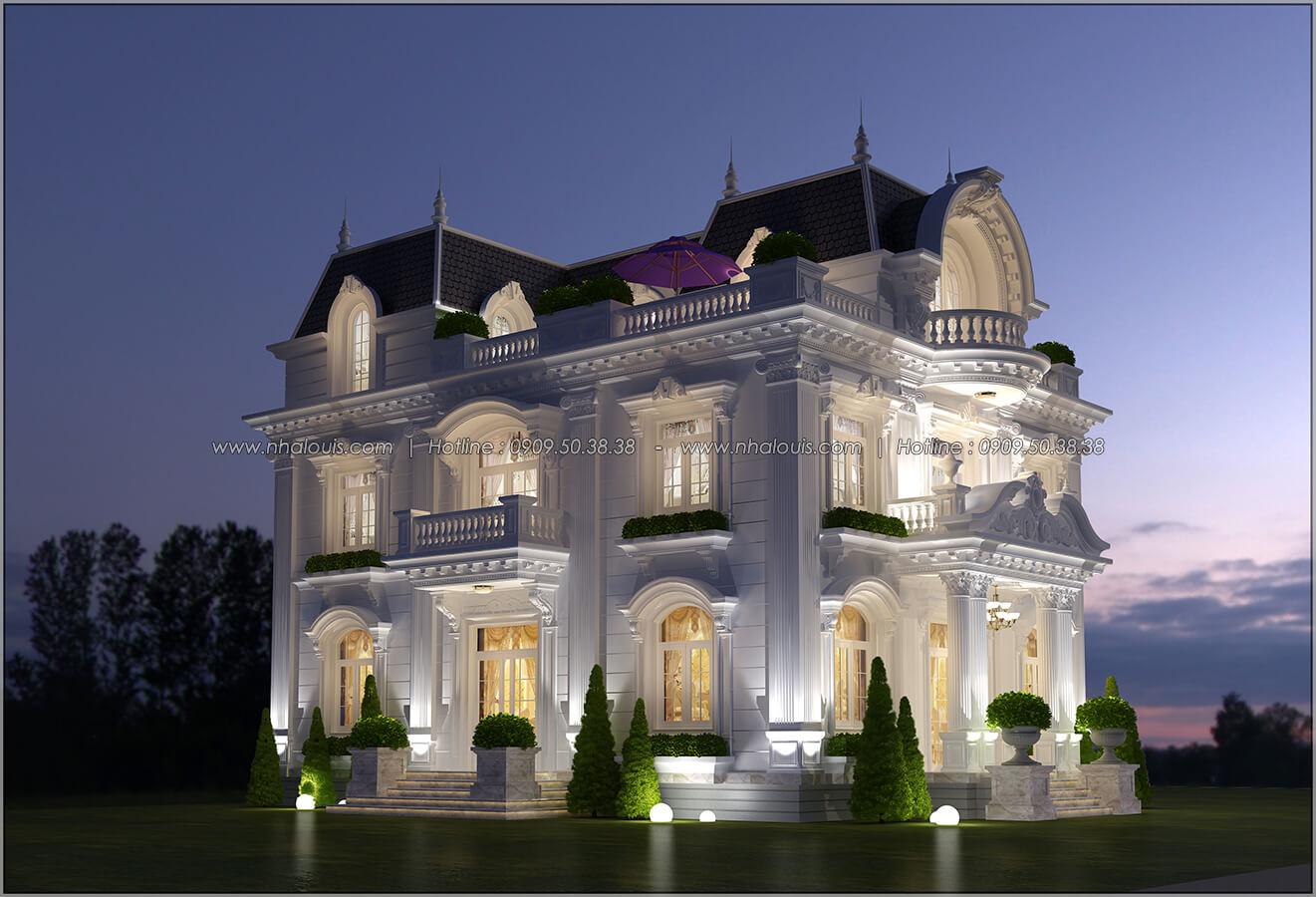 Mặt tiền Mê mẩn với thiết kế biệt thự 3 tầng kiểu Pháp hoành tráng tại Biên Hòa - 04