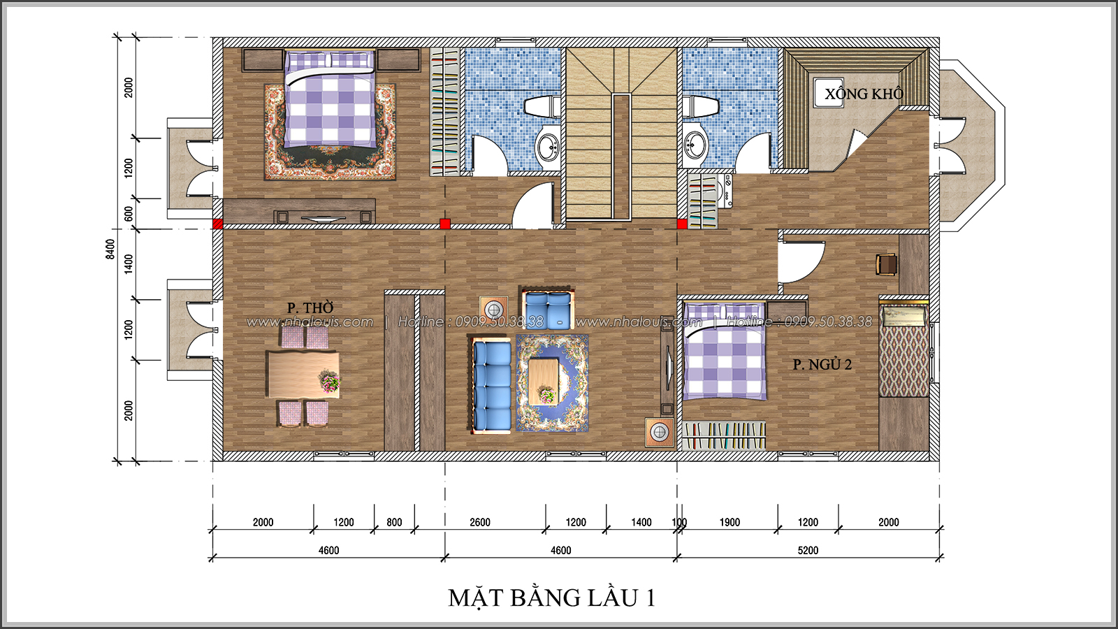 Ngắm nhìn thiết kế biệt thự 2 tầng độc đáo tại xứ sở ngàn hoa Đà Lạt - 07