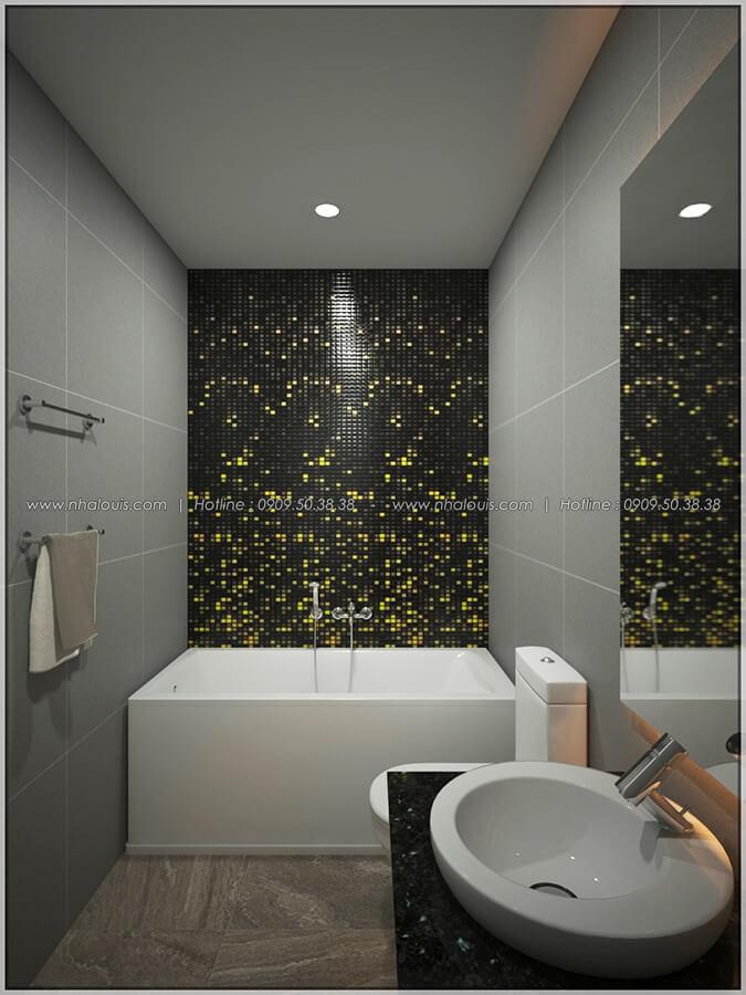 Phòng tắm thiết kế nội thất chung cư nhỏ tại Quận 5 đẹp tinh tế - 12