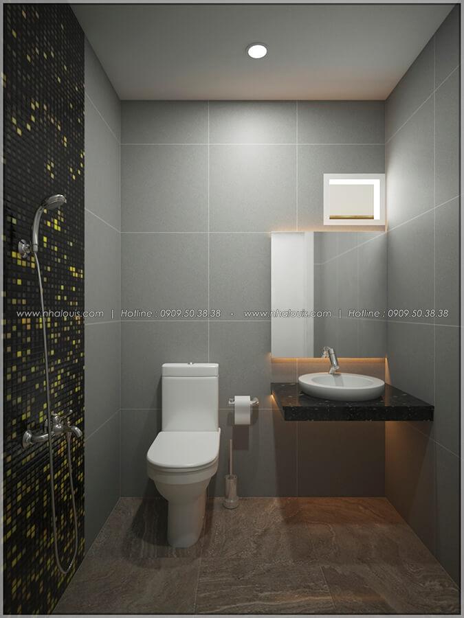 WC thiết kế nội thất chung cư nhỏ tại Quận 5 đẹp tinh tế - 14