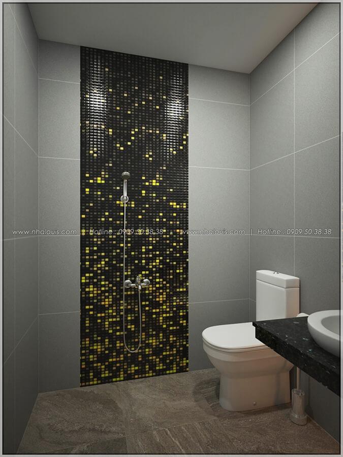 WC thiết kế nội thất chung cư nhỏ tại Quận 5 đẹp tinh tế - 15