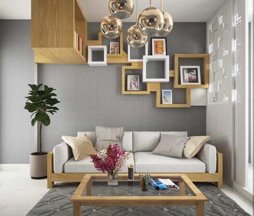 Ngắm nhìn thiết kế nội thất chung cư nhỏ tại Quận 5 đẹp tinh tế