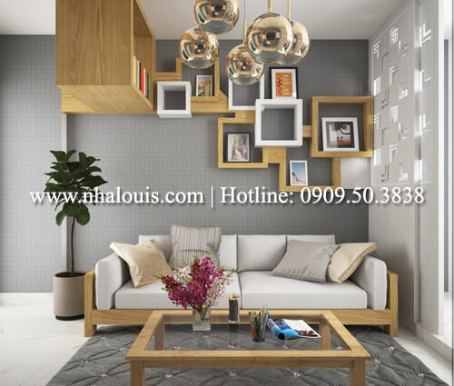 phòng khách thiết kế nội thất chung cư nhỏ