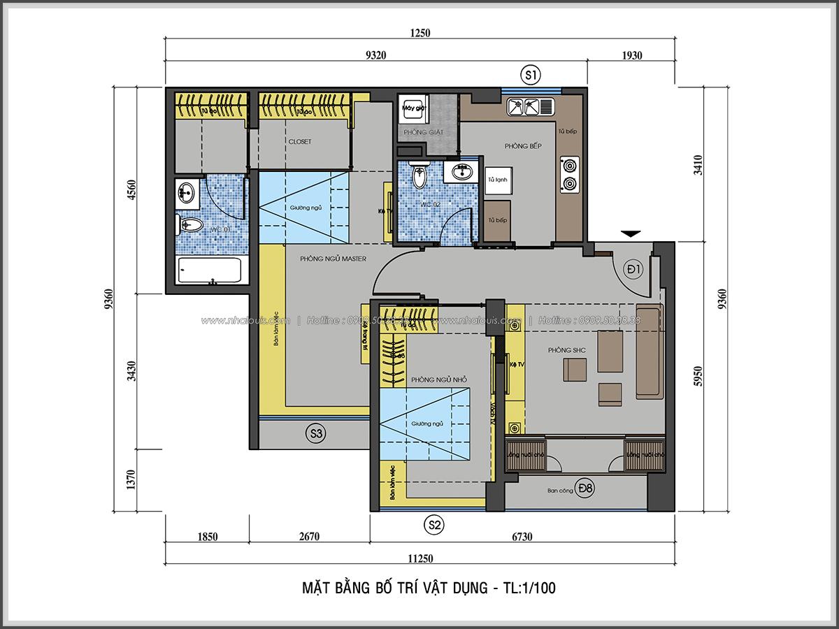 Ngắm nhìn thiết kế nội thất chung cư nhỏ tại Quận 5 đẹp tinh tế - 2
