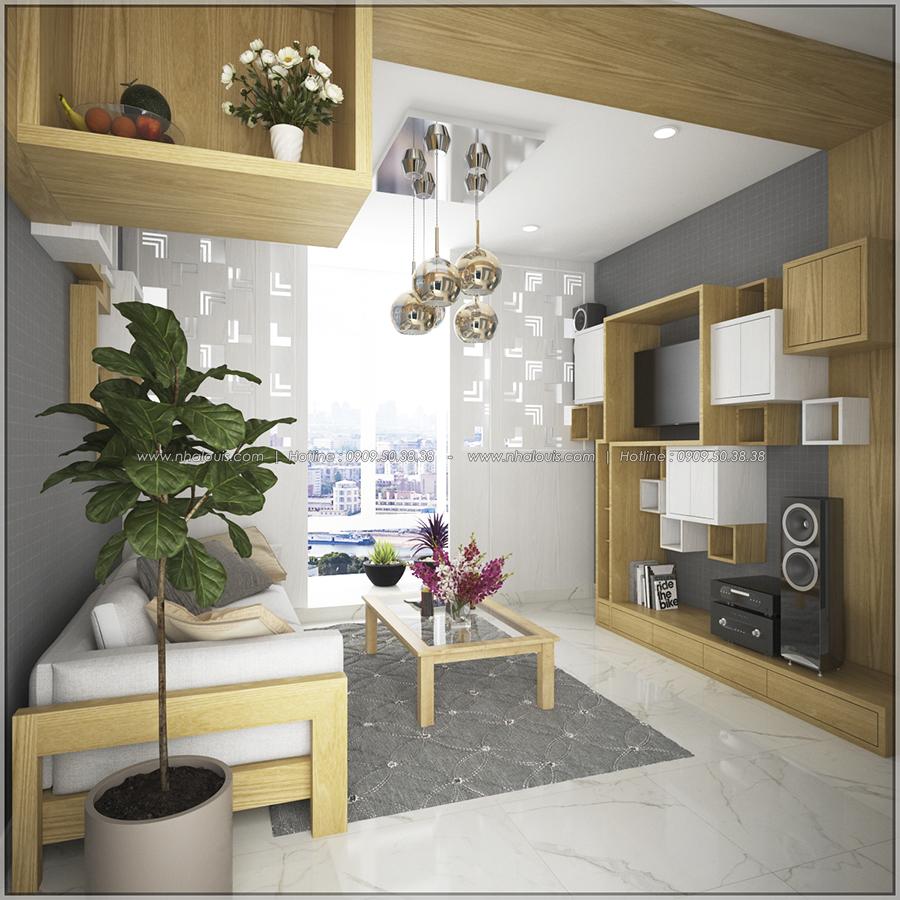 Ngắm nhìn thiết kế nội thất chung cư nhỏ tại Quận 5 đẹp tinh tế - 3