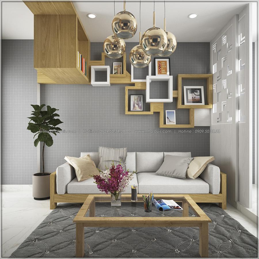 Ngắm nhìn thiết kế nội thất chung cư nhỏ tại Quận 5 đẹp tinh tế - 5