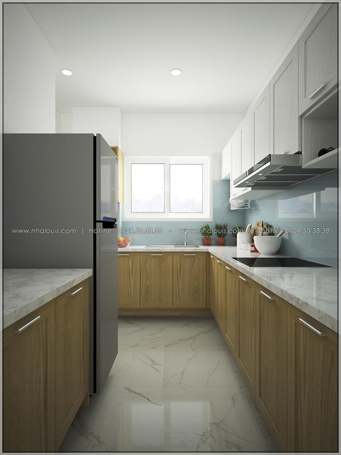Ngắm nhìn thiết kế nội thất chung cư nhỏ tại Quận 5 đẹp tinh tế - 6