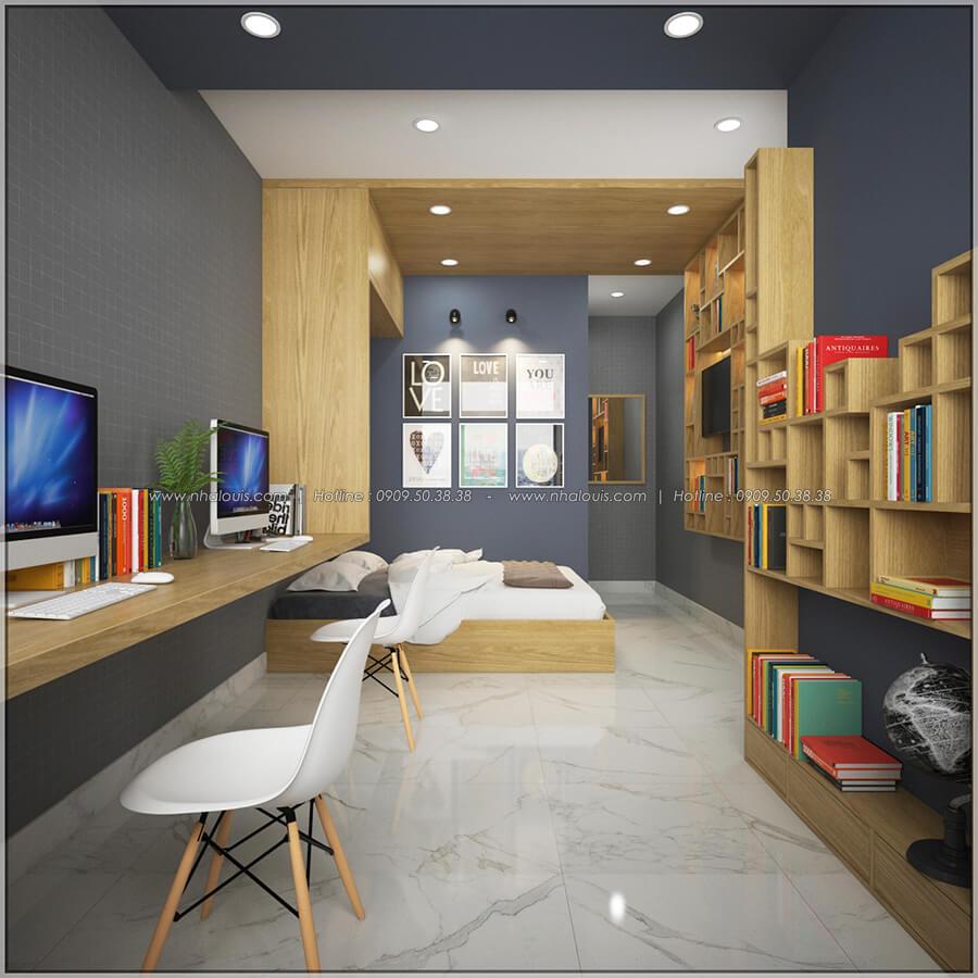 Phòng ngủ thiết kế nội thất chung cư nhỏ tại Quận 5 đẹp tinh tế - 8