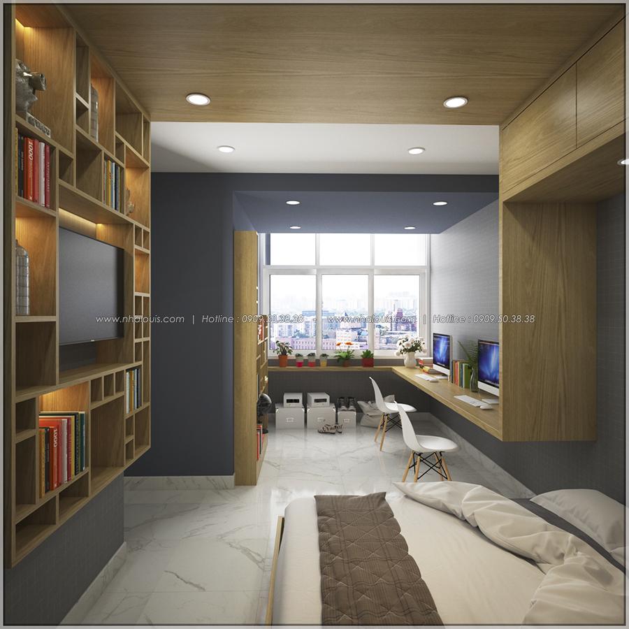 Ngắm nhìn thiết kế nội thất chung cư nhỏ tại Quận 5 đẹp tinh tế - 9