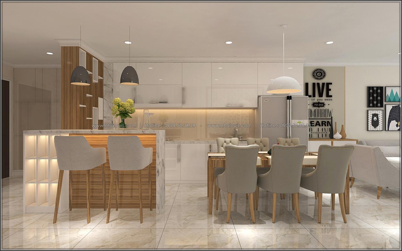 Ngắm nhìn thiết kế nội thất căn hộ Sunrise City đẹp sang trọng và tinh tế - 02