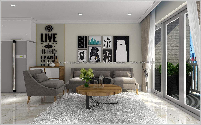 Ngắm nhìn thiết kế nội thất căn hộ Sunrise City đẹp sang trọng và tinh tế - 06