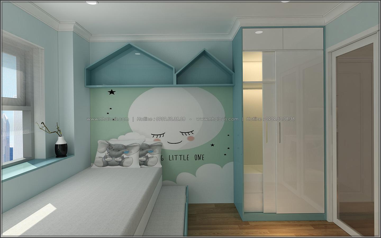 Ngắm nhìn thiết kế nội thất căn hộ Sunrise City đẹp sang trọng và tinh tế - 13