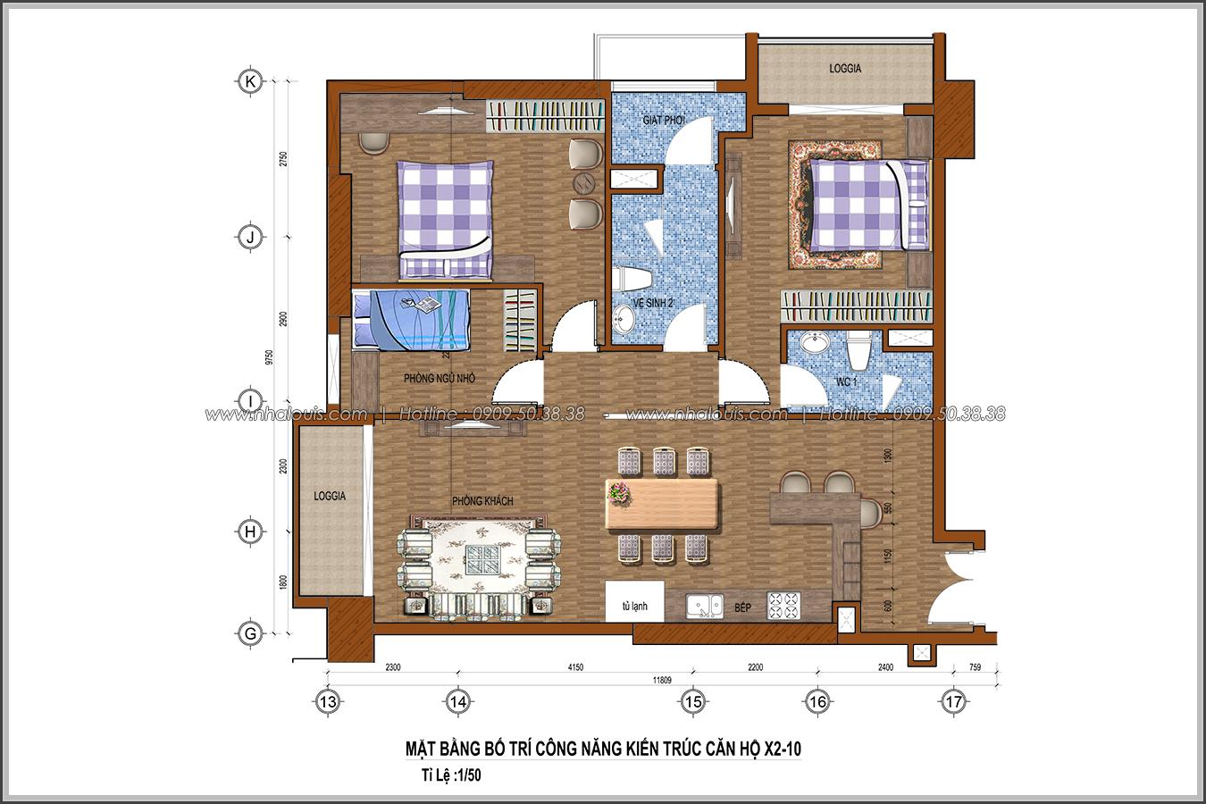 Ngắm nhìn thiết kế nội thất căn hộ Sunrise City đẹp sang trọng và tinh tế - 15