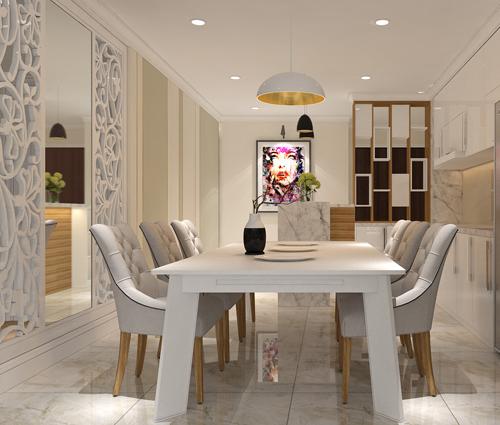 Ngắm nhìn thiết kế nội thất căn hộ Sunrise City đẹp sang trọng và tinh tế
