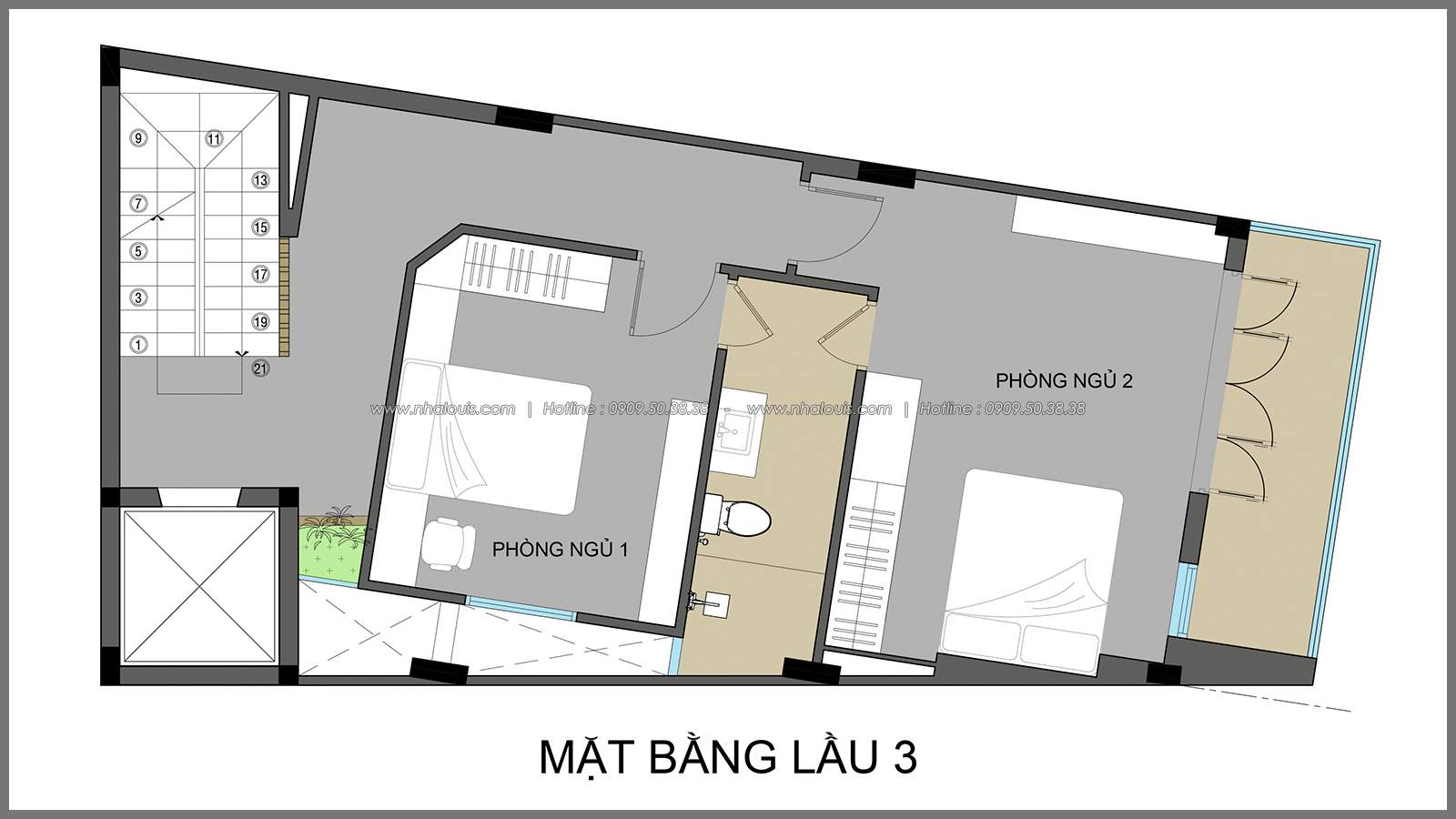 Ngỡ ngàng với thiết kế nhà có tầng hầm của chị Lan tại Quận 1 - 14