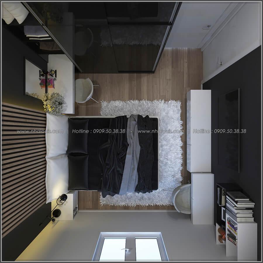 Phòng ngủ thiết kế nhà có tầng hầm của chị Lan tại Quận 1 - 18