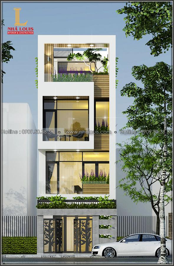 Nhà đẹp 3 tầng mặt tiền 5m của chị Linh quận 6