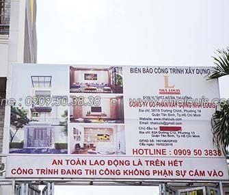 Thiết kế thi công nhà ống mặt tiền 4m quận Tân Bình