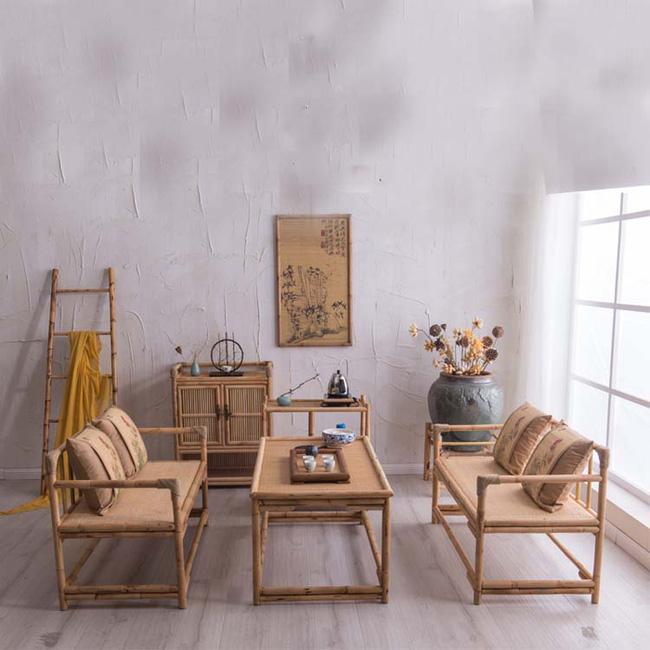 Những mẫu bàn ghế bằng mây tre đan đẹp đến bất ngờ - 01