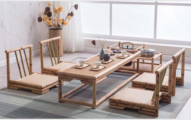 Những mẫu bàn ghế bằng mây tre đan đẹp đến bất ngờ - 06