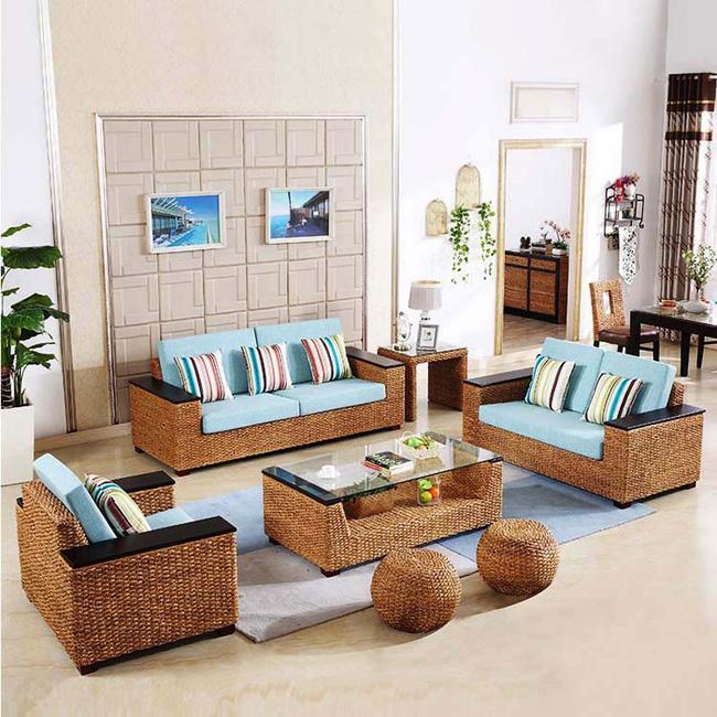 Những mẫu bàn ghế bằng mây tre đan đẹp đến bất ngờ - 09