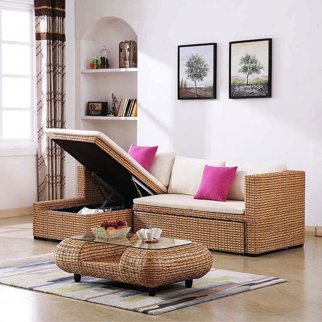 Những mẫu bàn ghế bằng mây tre đan đẹp đến bất ngờ - 11