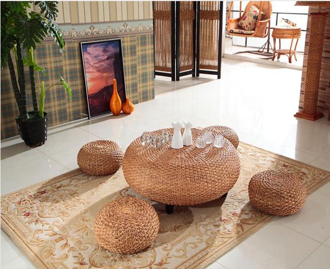 Những mẫu bàn ghế bằng mây tre đan đẹp đến bất ngờ - 13