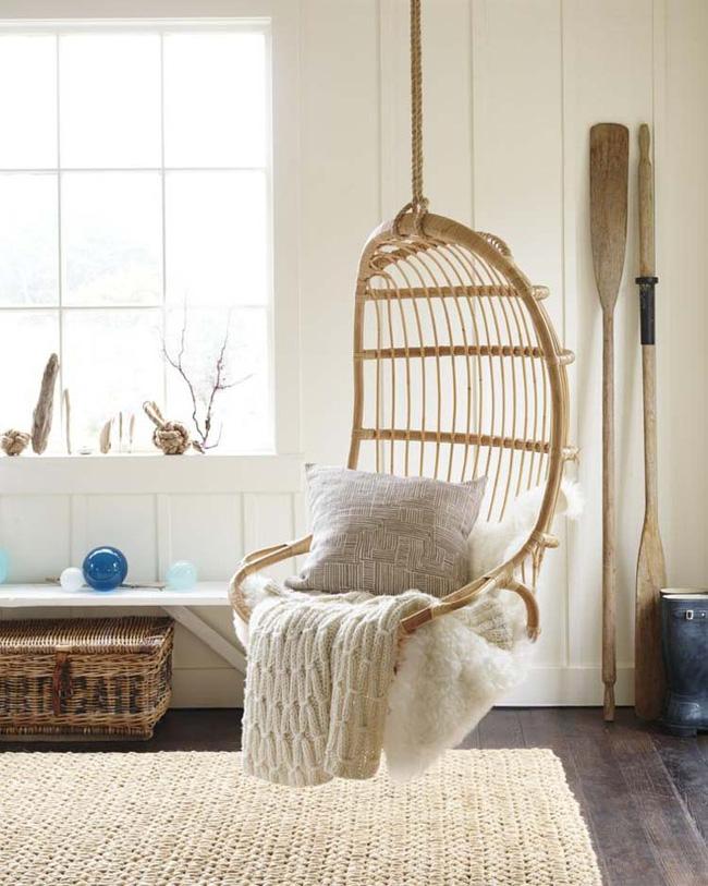 Những mẫu bàn ghế bằng mây tre đan đẹp đến bất ngờ - 15
