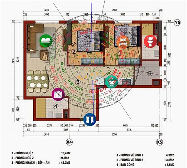 Các yếu tố phong thủy nhà ở trong thiết kế kiến trúc