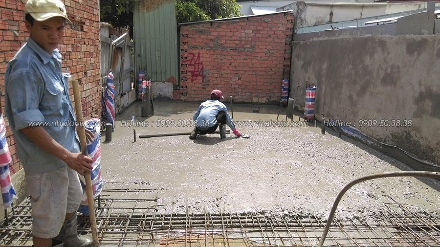 Thiết kế thi công nhà phố hiện đại tại quận Bình Tân