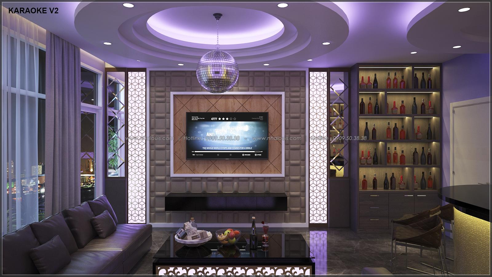 Phòng karaoke với thiết kế nhà ống mặt tiền 5m của chị Linh quận 6 - 20