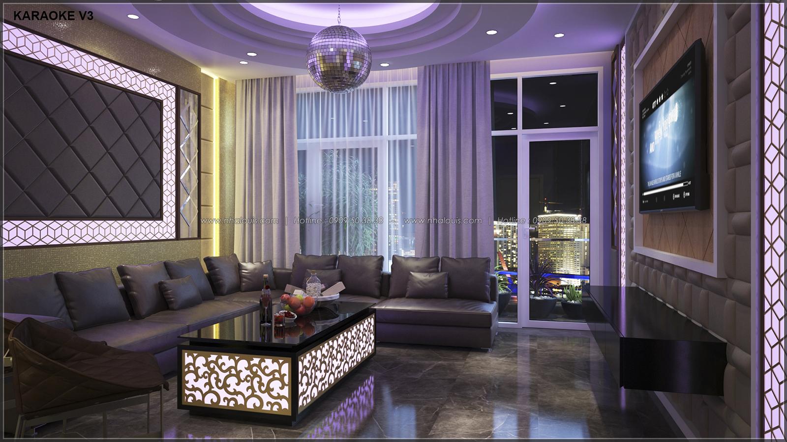 Phòng karaoke với thiết kế nhà ống mặt tiền 5m của chị Linh quận 6 - 21