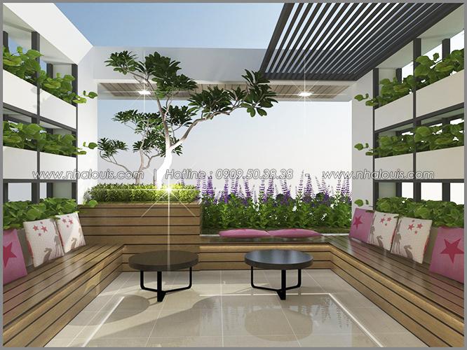 Phòng ngủ với thiết kế nhà ống mặt tiền 5m của chị Linh quận 6 - 36