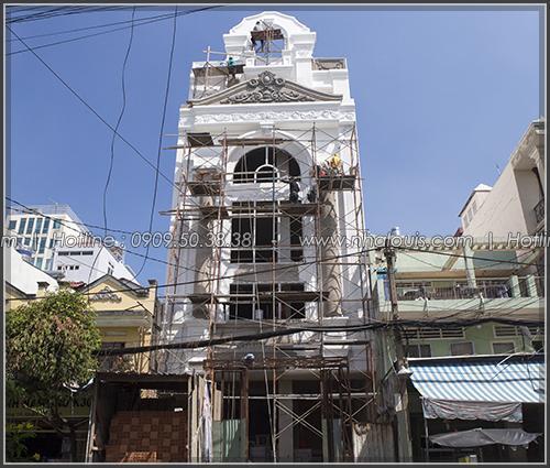 Thi công xây dựng penthouse đẳng cấp cố hồ bơi tại Tân Bình