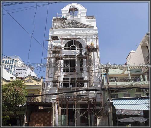 Thi công xây dựng penthouse đẳng cấp có hồ bơi tại Tân Bình