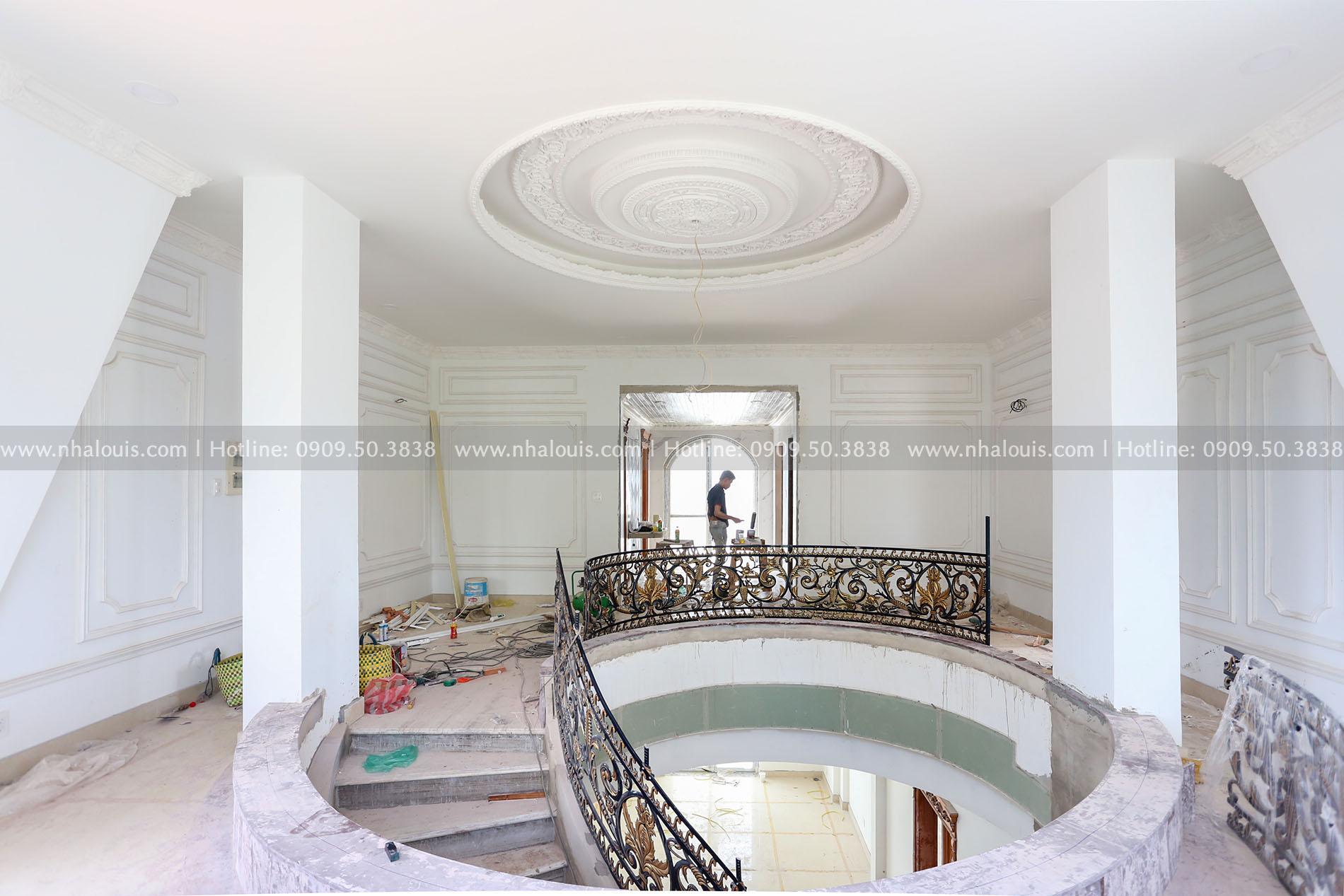 Mẫu biệt thự 3 tầng kiểu Pháp đẹp mê mẩn tại Hậu Giang