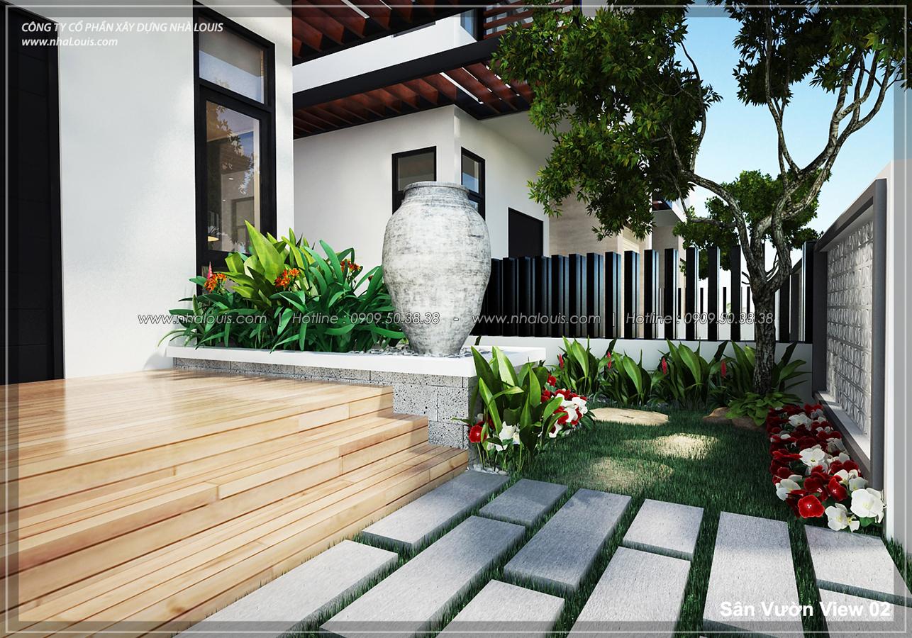 Thiết kế biệt thự 3 tầng đẹp tại dự án Lucasta Villa đẳng cấp - 02