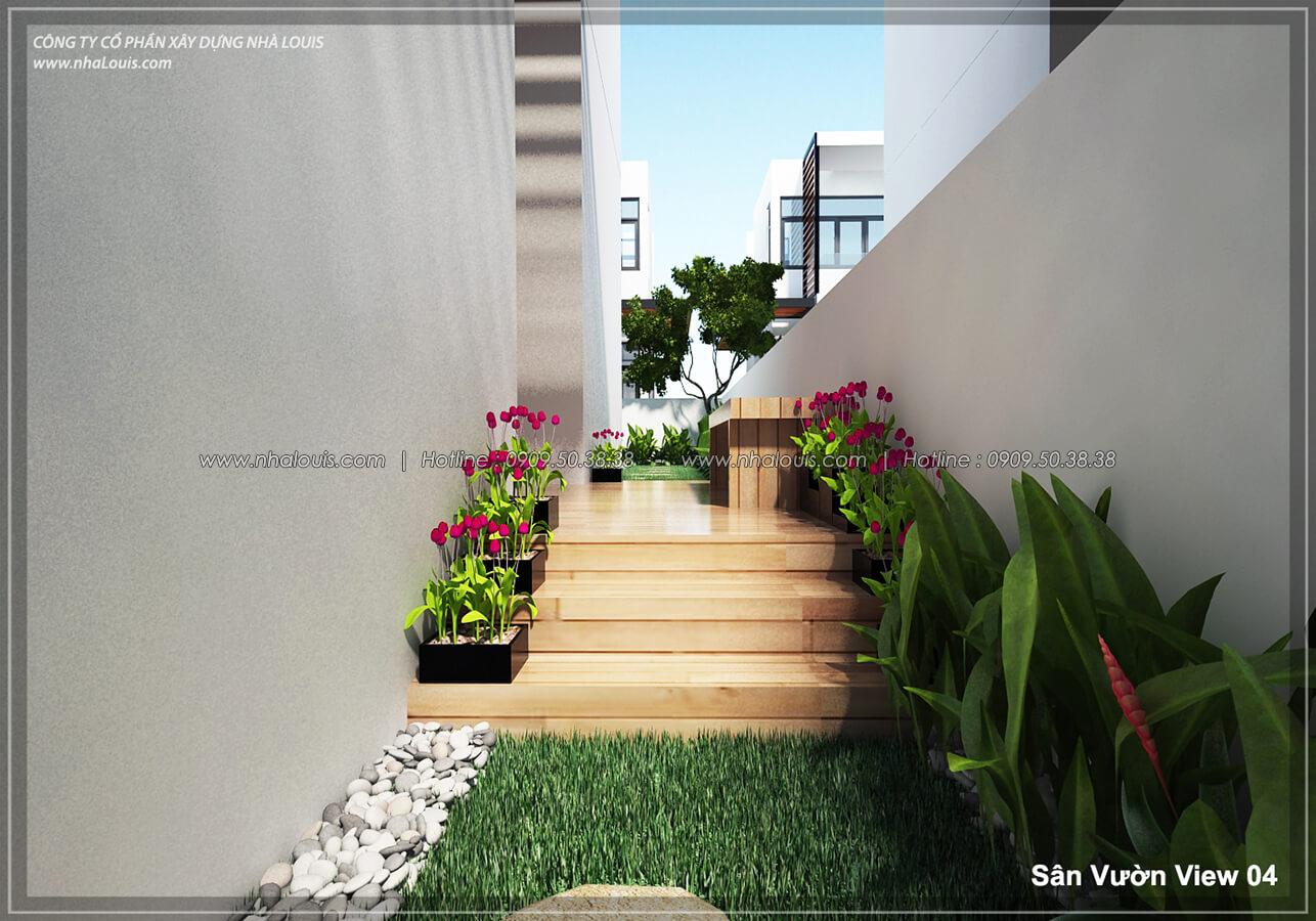 sân vườn Thiết kế nội thất biệt thự hiện đại đẹp tại dự án Lucasta Villa đẳng cấp - 04
