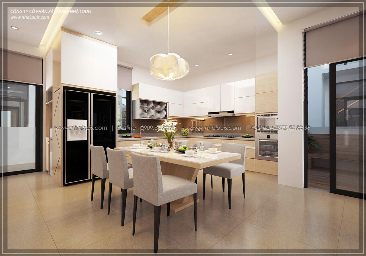 Bếp và phòng ăn Thiết kế nội thất biệt thự hiện đại đẹp tại dự án Lucasta Villa đẳng cấp - 16
